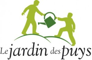 Logo jardin des puys